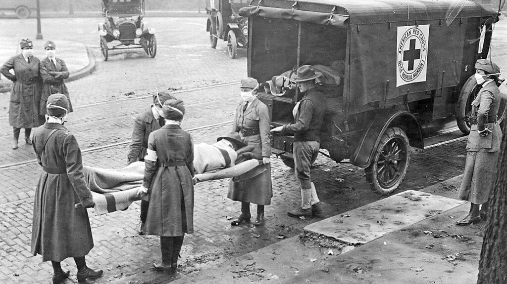महामारी 1918: चित्रकथा
